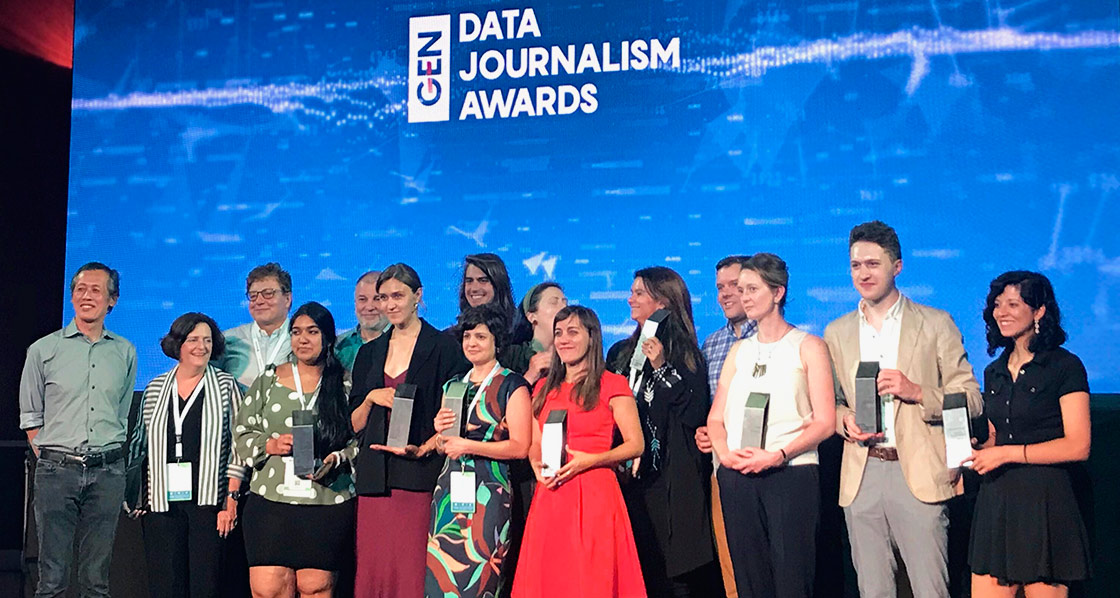 Civio wins its second Data Journalism Award, the most prestigious international award in the field
